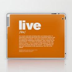 definition LLL - Live 10 Laptop & iPad Skin