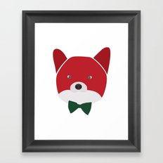 Fox Vermelha Framed Art Print