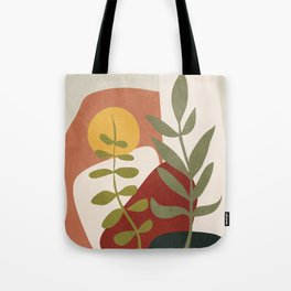 Two Abstract Branches Tote Bag