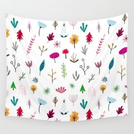 Plants & Flowers Wall Tapestry