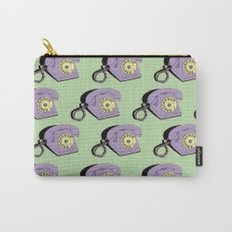 Telephone (purple & green) Carry-All Pouch