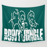 marley Wall Tapestries featuring Singing Reggae - Bdwy Jungle by The Peanut Line