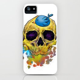 Happy Life, Happy Strife by G Squared iPhone Case