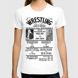 #2 Memphis Wrestling Window Card T-shirt