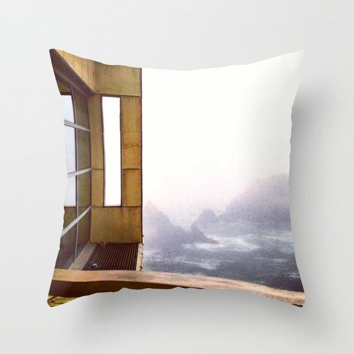 Day Ten: Cliff House Throw Pillow