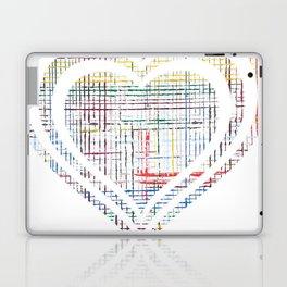 The System - heart Laptop & iPad Skin
