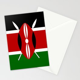Flag of Kenya Stationery Cards