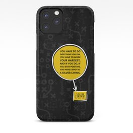 Silver Linings Reminder iPhone Case