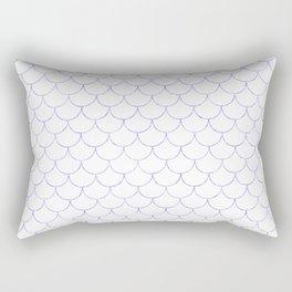 Mermaid Scales in Purple Rectangular Pillow