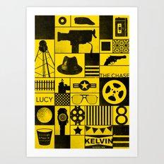 Super 8 Art Print