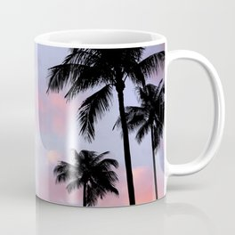 Palm Trees and Sunset Coffee Mug
