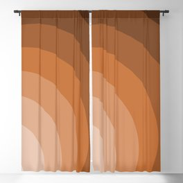 Graphic Circles Blackout Curtain