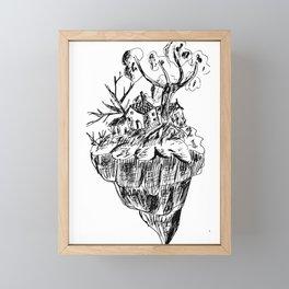 Tiny Home Framed Mini Art Print