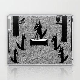 The Wolf King Laptop & iPad Skin