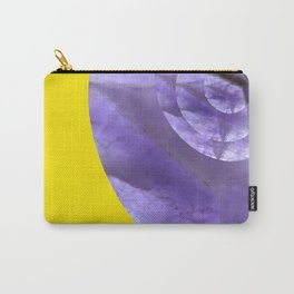 Yellow Mystical Powers of Amethyst #society6 Carry-All Pouch