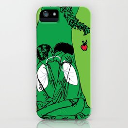The Giving Tree or The Taking Human iPhone Case