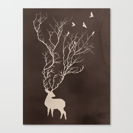 Oh Dear Canvas Print