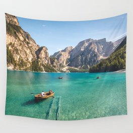 Mountain Adventures Wall Tapestry