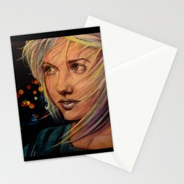 Wind Speaks While the City Sleeps (VIDEO IN DESCRIPTION!) Stationery Cards