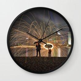 Spark Showers, Coronado Wall Clock