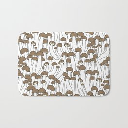 Beech Mushrooms Bath Mat