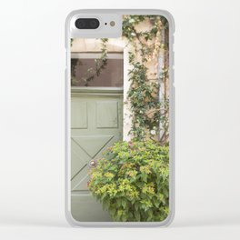 Doorway in France Clear iPhone Case
