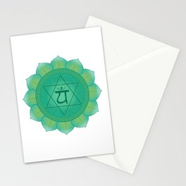 Heart - Anahata  Chakra Symbol Stationery Cards