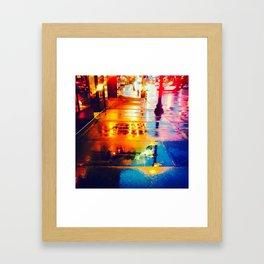 City Night Framed Art Print