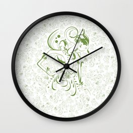 Art of Wayang Wall Clock