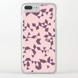 Astra Pink Clear iPhone Case