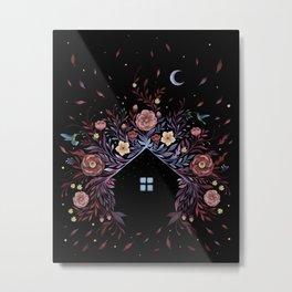 Tiny House - Windy Metal Print