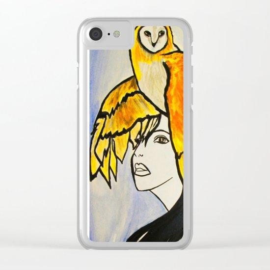 Soul Mate Clear iPhone Case