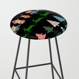 Christmas Elves & More Bar Stool