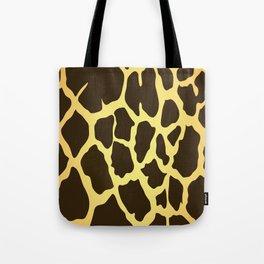 Giraffe Skin Print Tote Bag