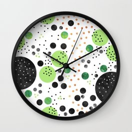 Jungle Coctail Wall Clock