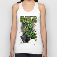 hulk Tank Tops featuring Hulk by WaXaVeJu