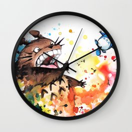 """Blown away"" Wall Clock"