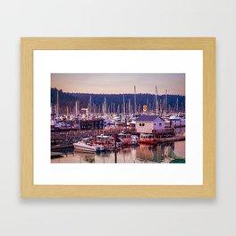 Boatscape Framed Art Print