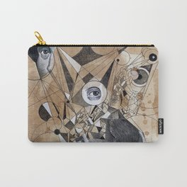 SHAKESPEARE AS AN ABSTRACT CONCEPT Carry-All Pouch