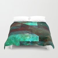 discount Duvet Covers featuring Emerald Nebulæ  by ....