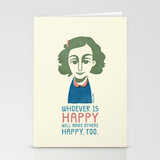 Make Others Happy, Too. Stationery Cards