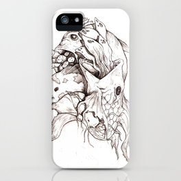 Weird Fishes iPhone Case