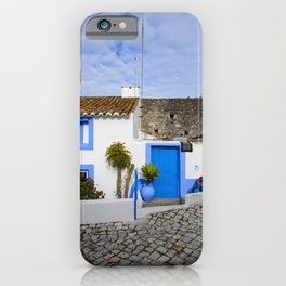 Dwelling in Nazare iPhone Case
