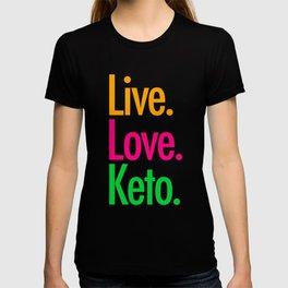 Live Love Keto T-shirt