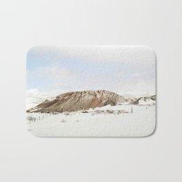 Lonely mountain Bath Mat