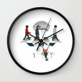 Stranger Thing Upside Down Wall Clock