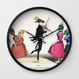 Fiddler  Wall Clock