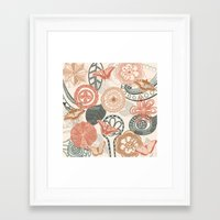doodle Framed Art Prints featuring doodle  by Ancello