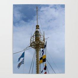 Light Vessel Mast Poster