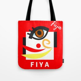 """"""" Carry On, F I Y A """" Tote Bag"""